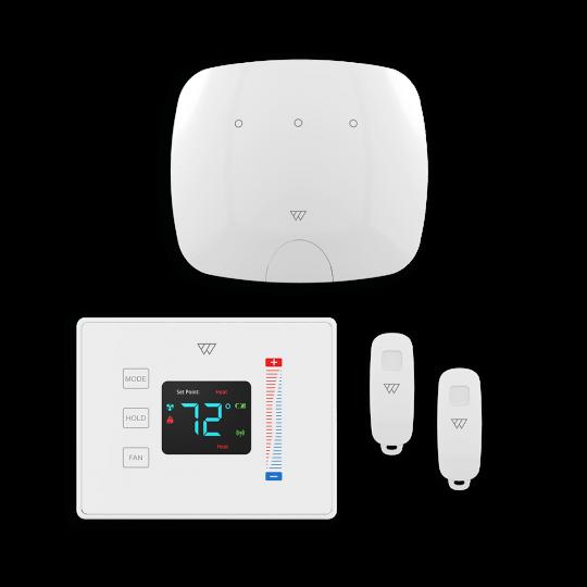 Base Kit (for flats, no alarm siren)