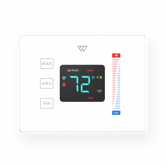 Thermostat White