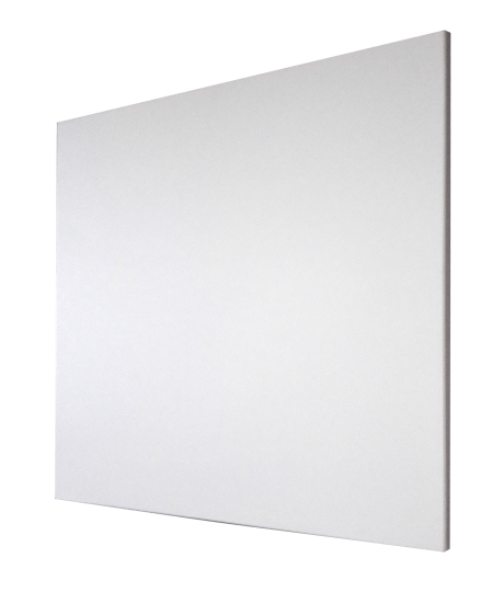White Aluminium Infrared Heating Panel 450W